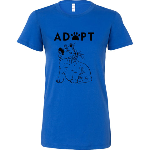 T-shirt - Adopt Kitty - Women's Crewneck