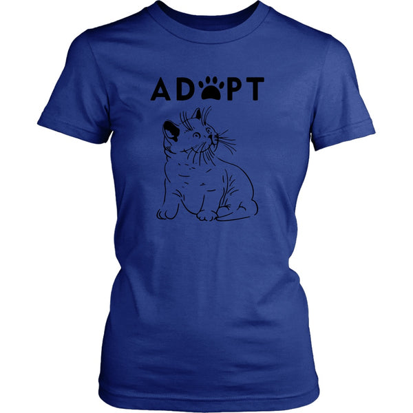 T-shirt - Adopt Kitty - Women's Fit