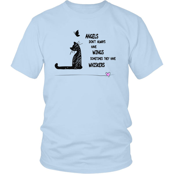 T-shirt - Angels With Whiskers - Unisex Tee