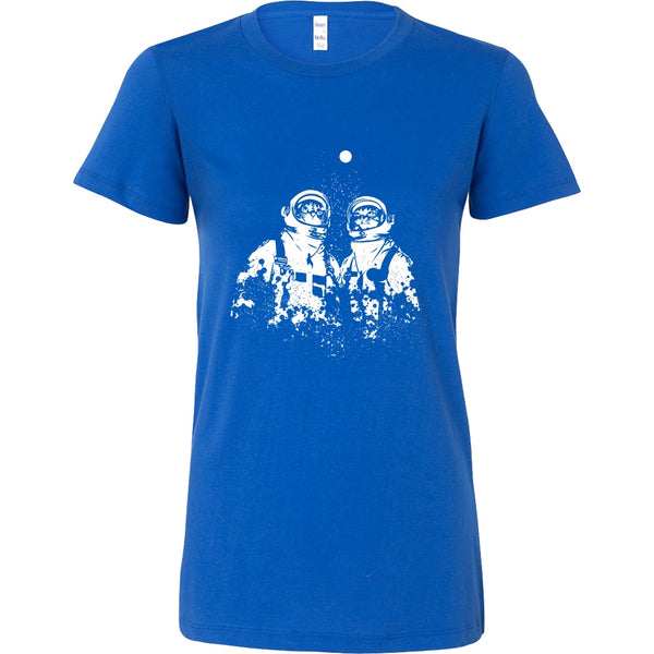 T-shirt - Astronaut Cats - Women's Crewneck