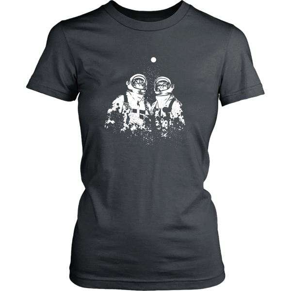 T-shirt - Astronaut Cats - Women's Fit