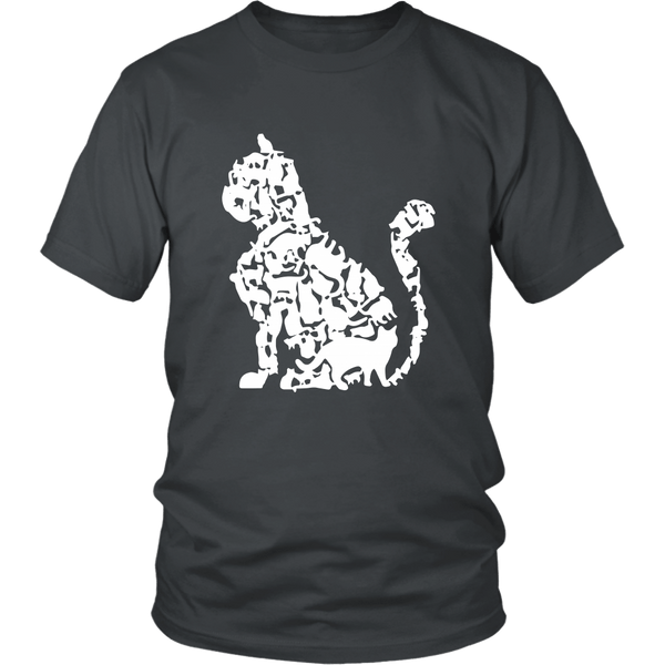 T-shirt - Can You Count All The Cats? - Unisex Tee