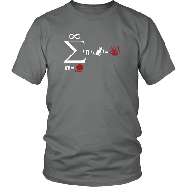 T-shirt - Cat Math - Unisex Tee