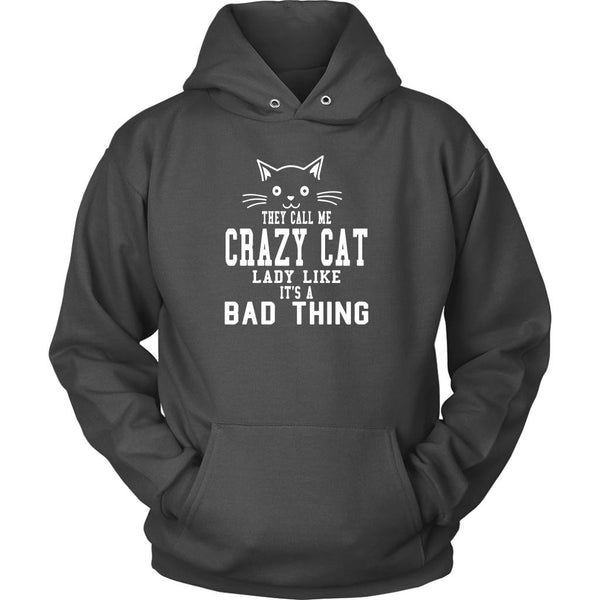 T-shirt - Crazy Cat Lady - Hoodie