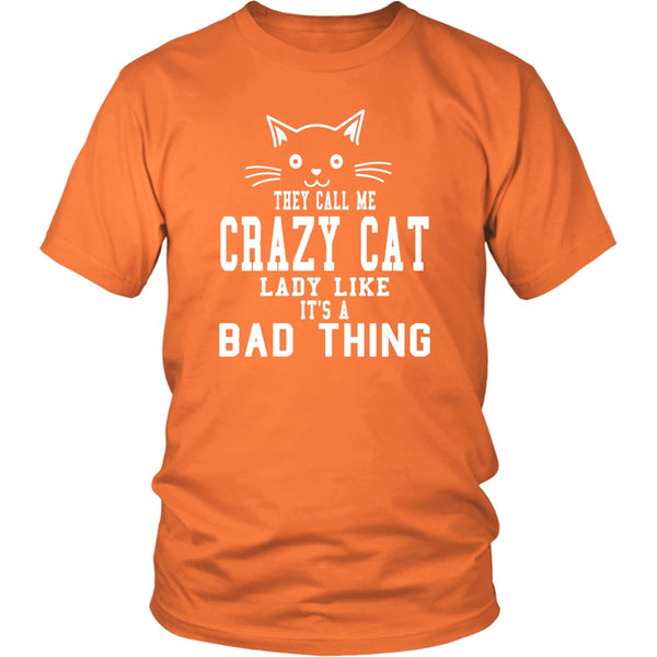 T-shirt - Crazy Cat Lady - Unisex Tee