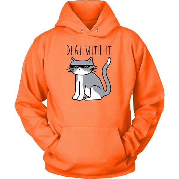 T-shirt - Deal With It - Hoodie