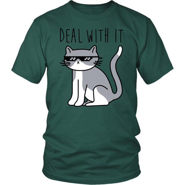 T-shirt - Deal With It - Unisex Tee