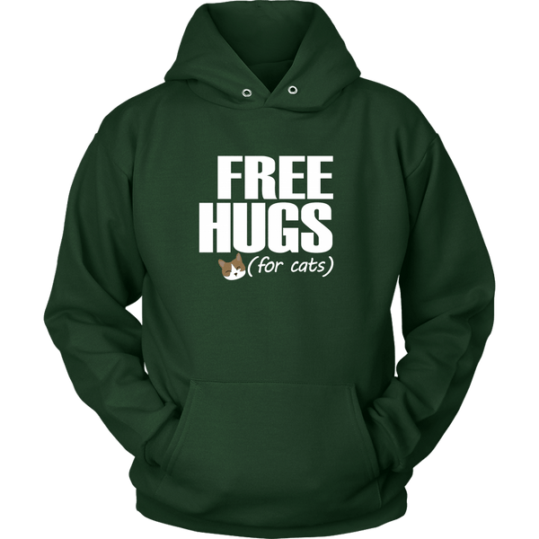 T-shirt - Free Hugs (for Cats) - Hoodie