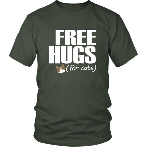 T-shirt - Free Hugs (for Cats) - Unisex Tee