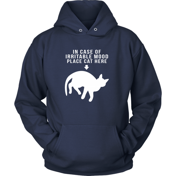 T-shirt - In Case Of Irritable Mood - Hoodie