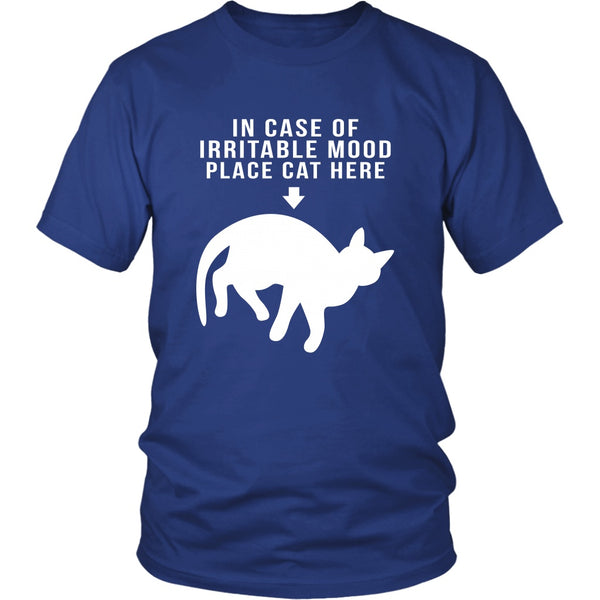 T-shirt - In Case Of Irritable Mood - Unisex Tee