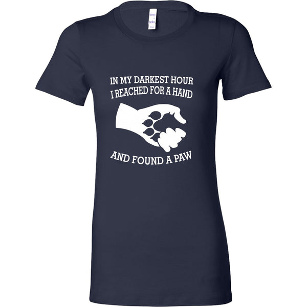 T-shirt - In My Darkest Hour - Women's Crewneck
