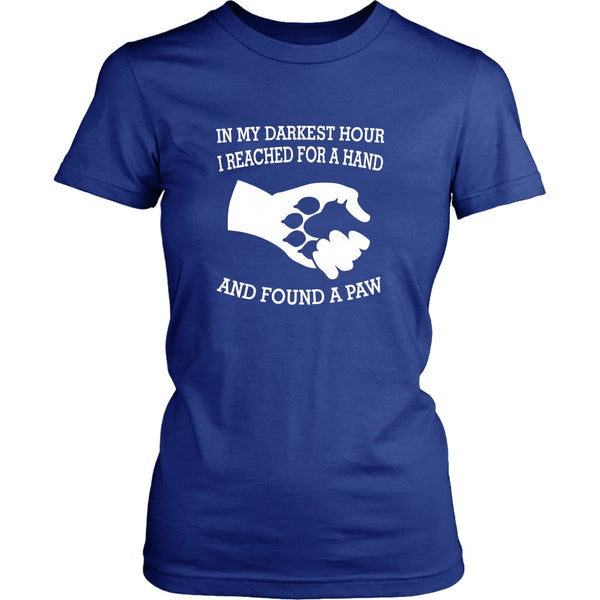 T-shirt - In My Darkest Hour - Women's Fit