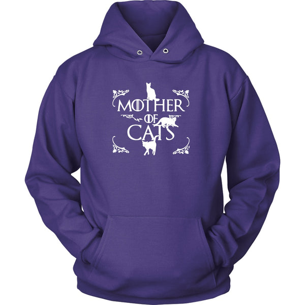 T-shirt - Mother Of Cats - Hoodie