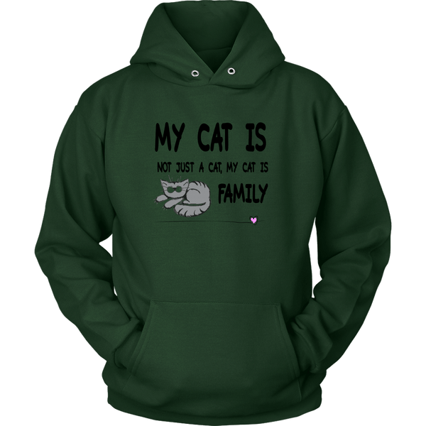 T-shirt - My Cat Is Family - Hoodie