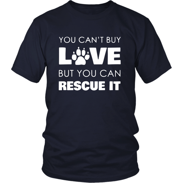 T-shirt - Rescue Love - Unisex Tee