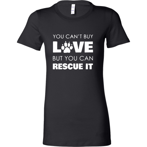 T-shirt - Rescue Love - Women's Crewneck