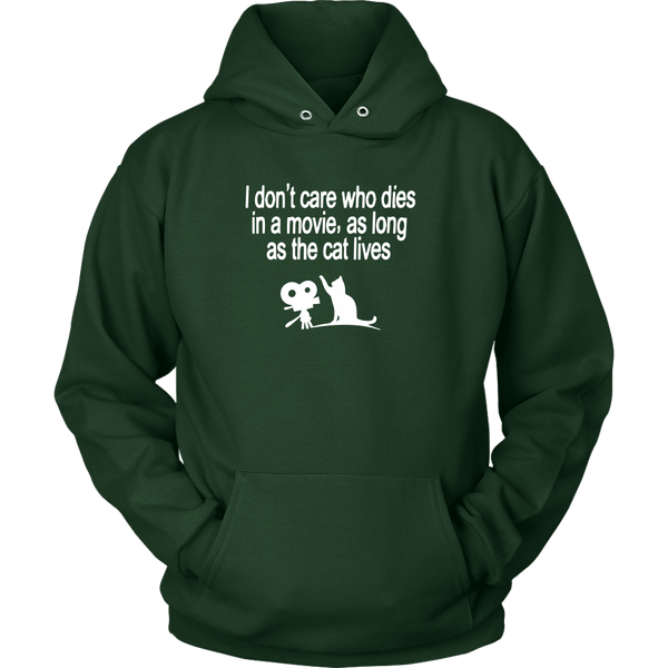 T-shirt - The Cat Lives - Hoodie