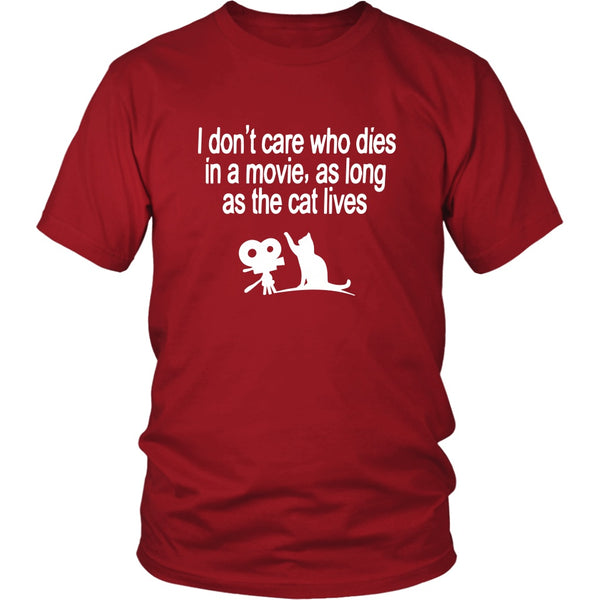 T-shirt - The Cat Lives - Unisex Tee