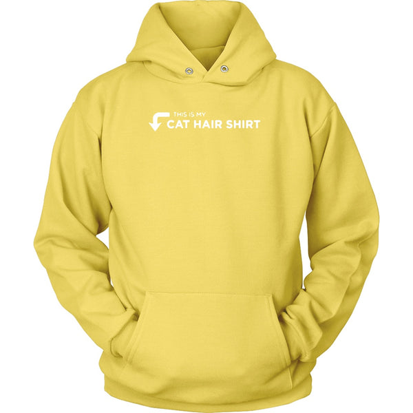 T-shirt - This Is My Cat Hair Shirt - Hoodie