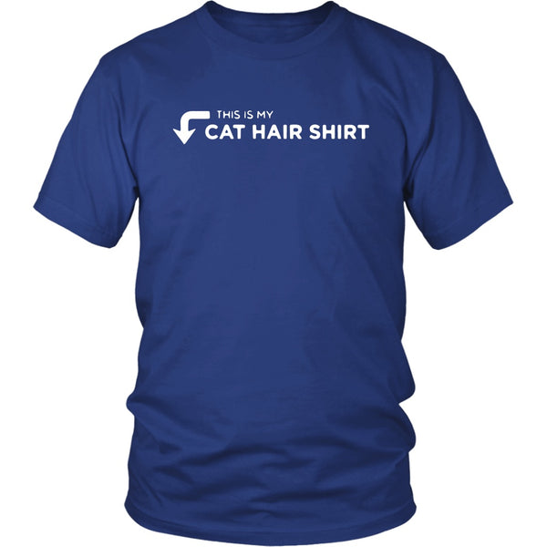 T-shirt - This Is My Cat Hair Shirt - Unisex Tee