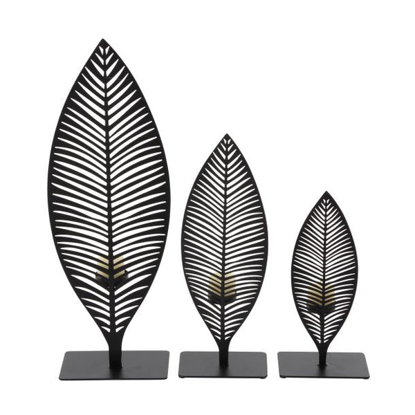 Palm Leaf Votive Holder