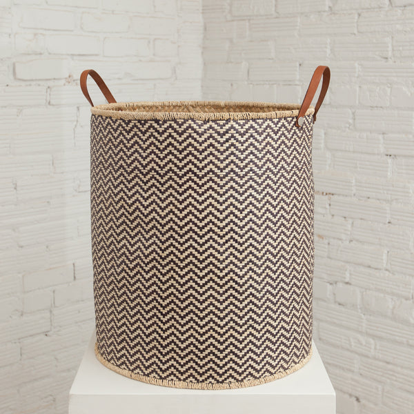 Large Palm Leaf Basket