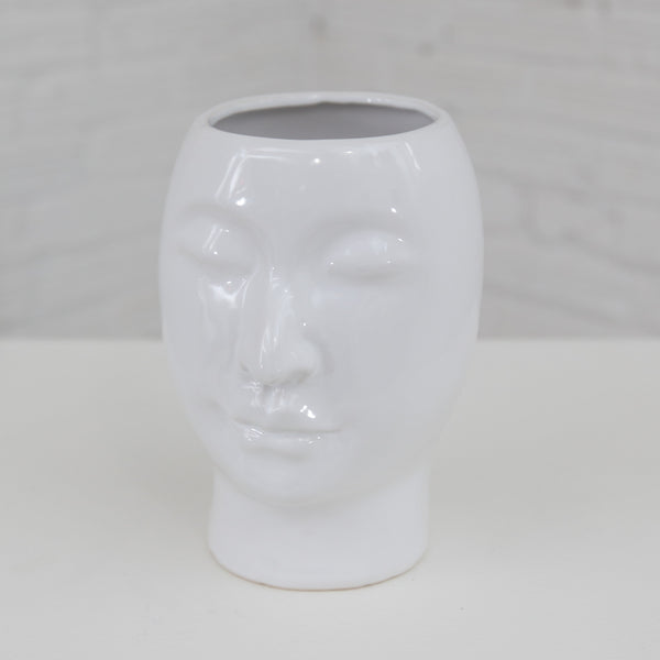 Large Beau Face Vase