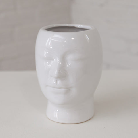 Small Beau Face Vase