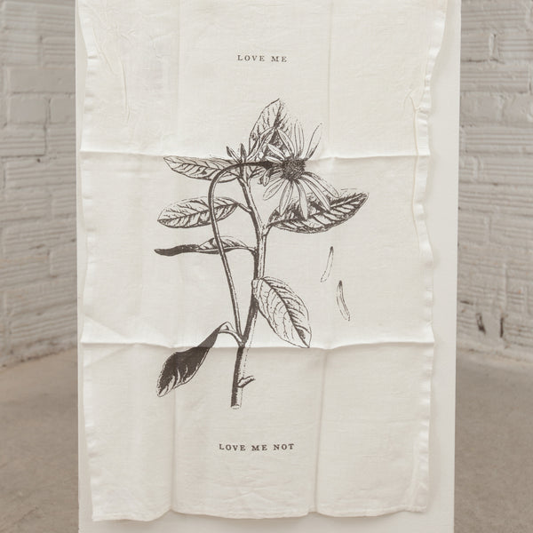 """Love Me"" Tea Towel"