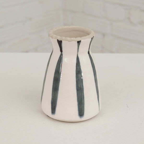 Vertical Striped Vase