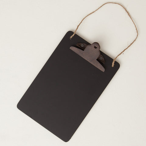 Black Hanging Clip Board