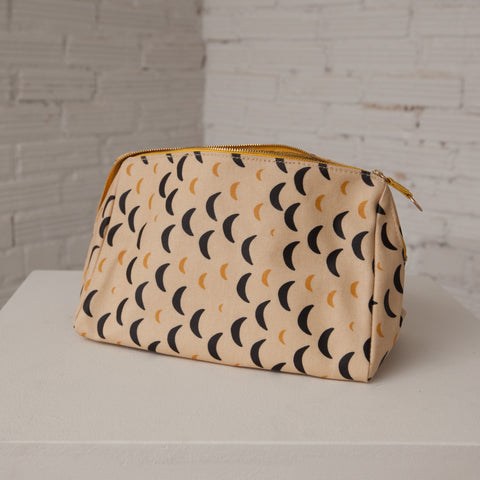 Large Gusset Makeup Pouch