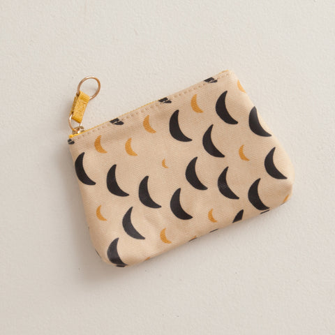Small Gusset Moon Pouch