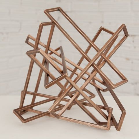 Large Tangled Rectangles Sculpture