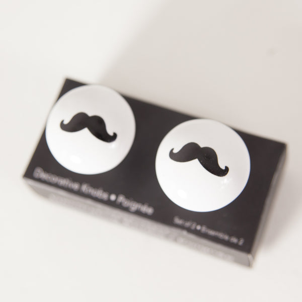 Decorative Moustache Knobs