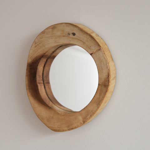 Teak Decorative Mirror