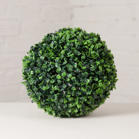 Polyester Boxwood Ball