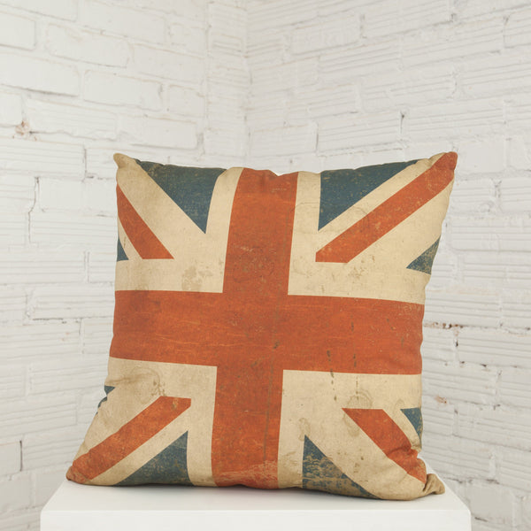 British Flag Decorative Pillow