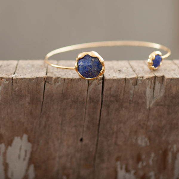 Anya Cuff with Lapis