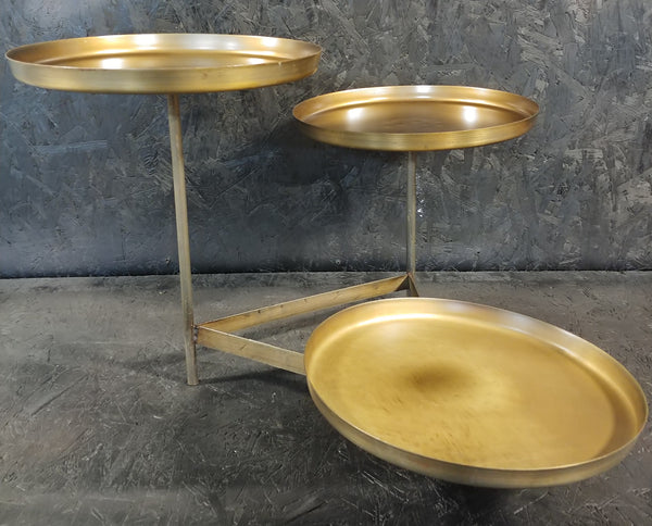 Brass Three Tiered Display