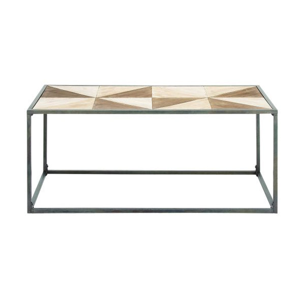 Two Tone Wood Coffee Table
