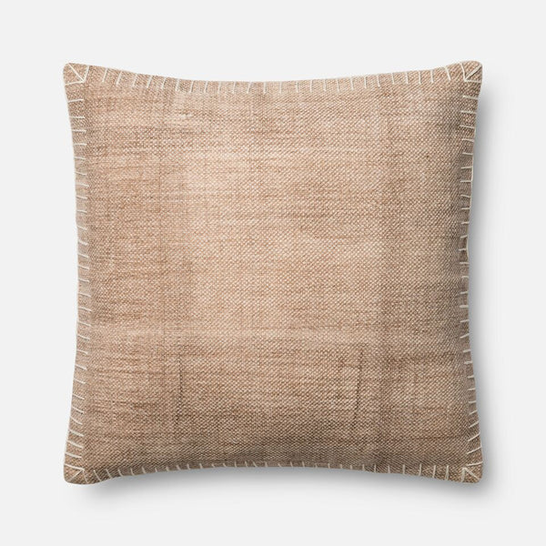 Magnolia Home Oversized Beige/White Pillow