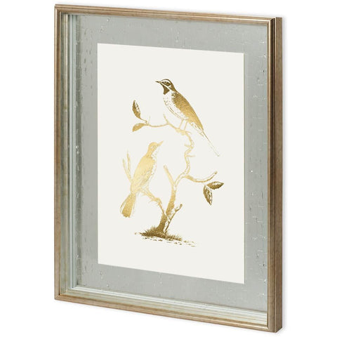 Gold Foil Birds II