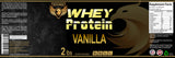 Whey Protein Powder (2lb)