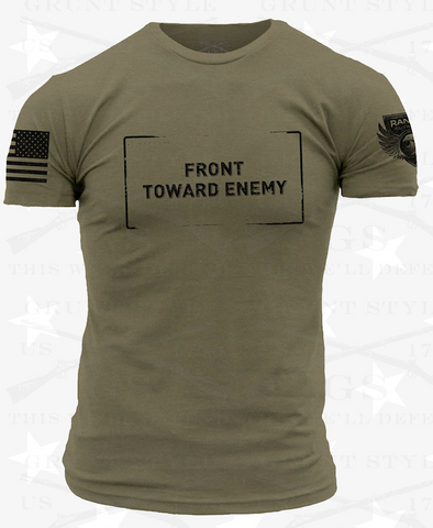 Men's Front Toward Enemy Shirt