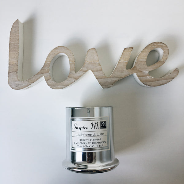 Valentine's Day NN Inspirational Candle Gift