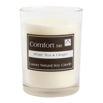 White Tea & Ginger Scented Inspirational Candle - NN Inspirational Gifts