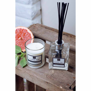 Grapefruit & Basil Scented Candle & Diffuser Set - NN Inspirational Gifts