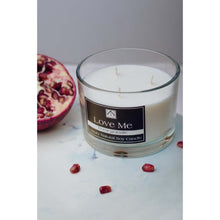 Pomegranate Three-Wick Scented Candle - NN Inspirational Gifts